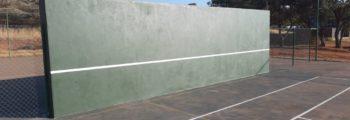 Tennis oefenmuur